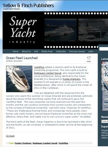 Super Yacht Industry - 13 Mar 10